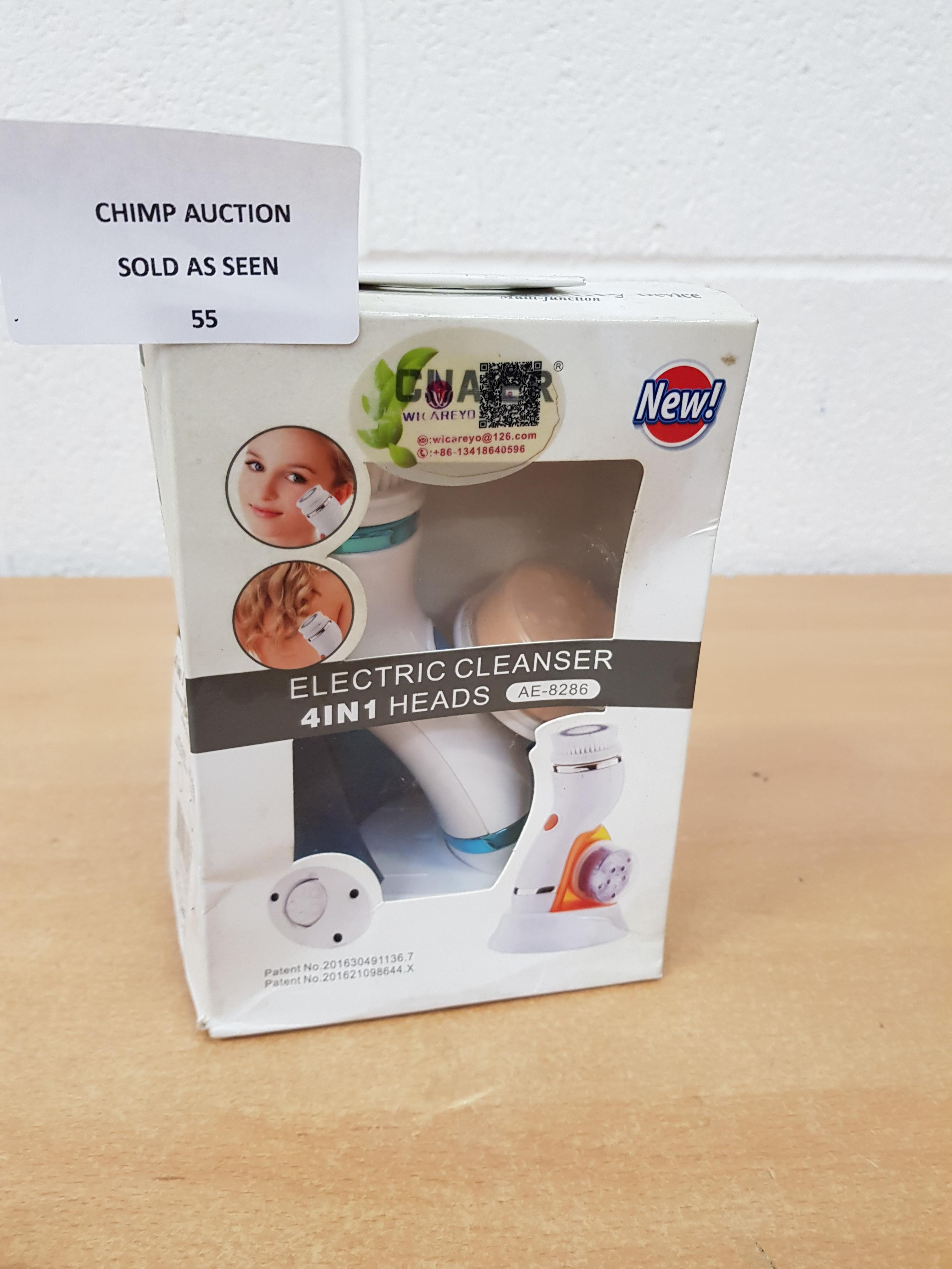 Lot 55 - Electric Cleanser 4 in 1 beauty device