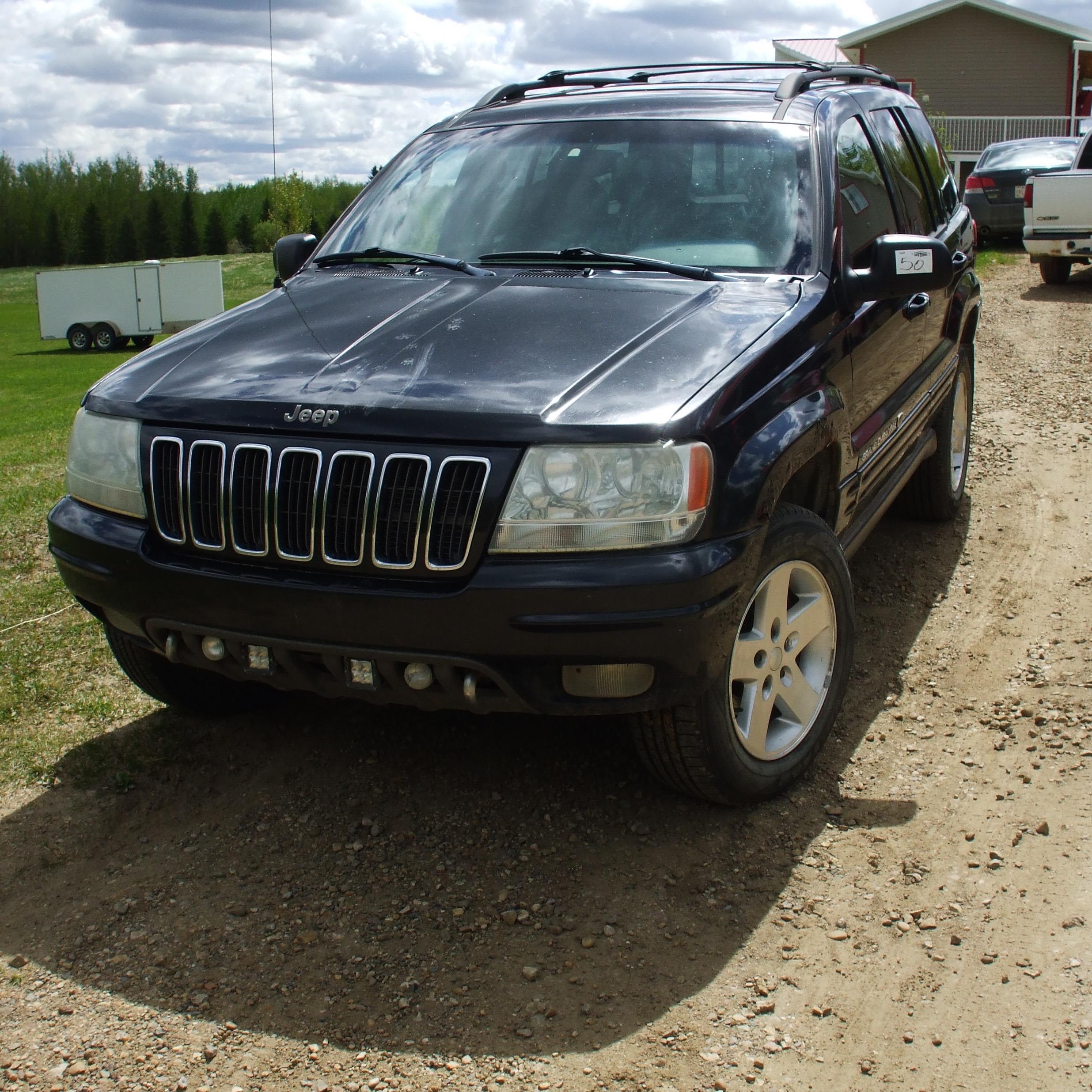 2002 Jeep, SUV ,black, 224,000 km sn: 1J8GW68J73C528479 - Image 4 of 6