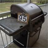 Coleman Propane BBQ with side burner