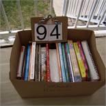 Box miscellaneous cookbooks
