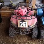 Gio Quad 110 cc , red