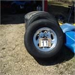 4 Tires & rims, 265.75x16