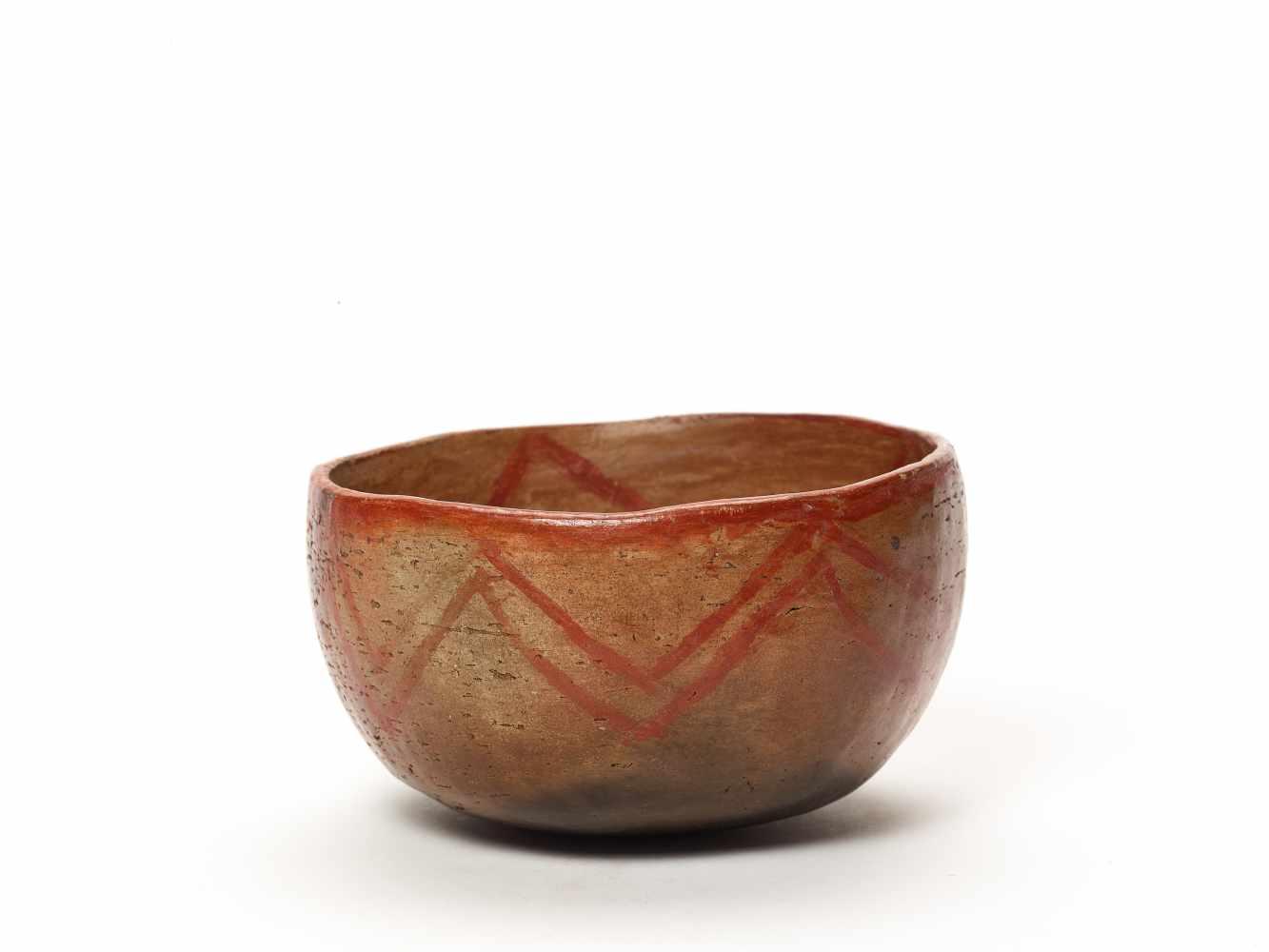THREE BOWLS – PROBABLY CHARCHI CULTURE, ECUADOR, C. 850 – 1500 ADFired clayProbably Charchi culture, - Image 2 of 10
