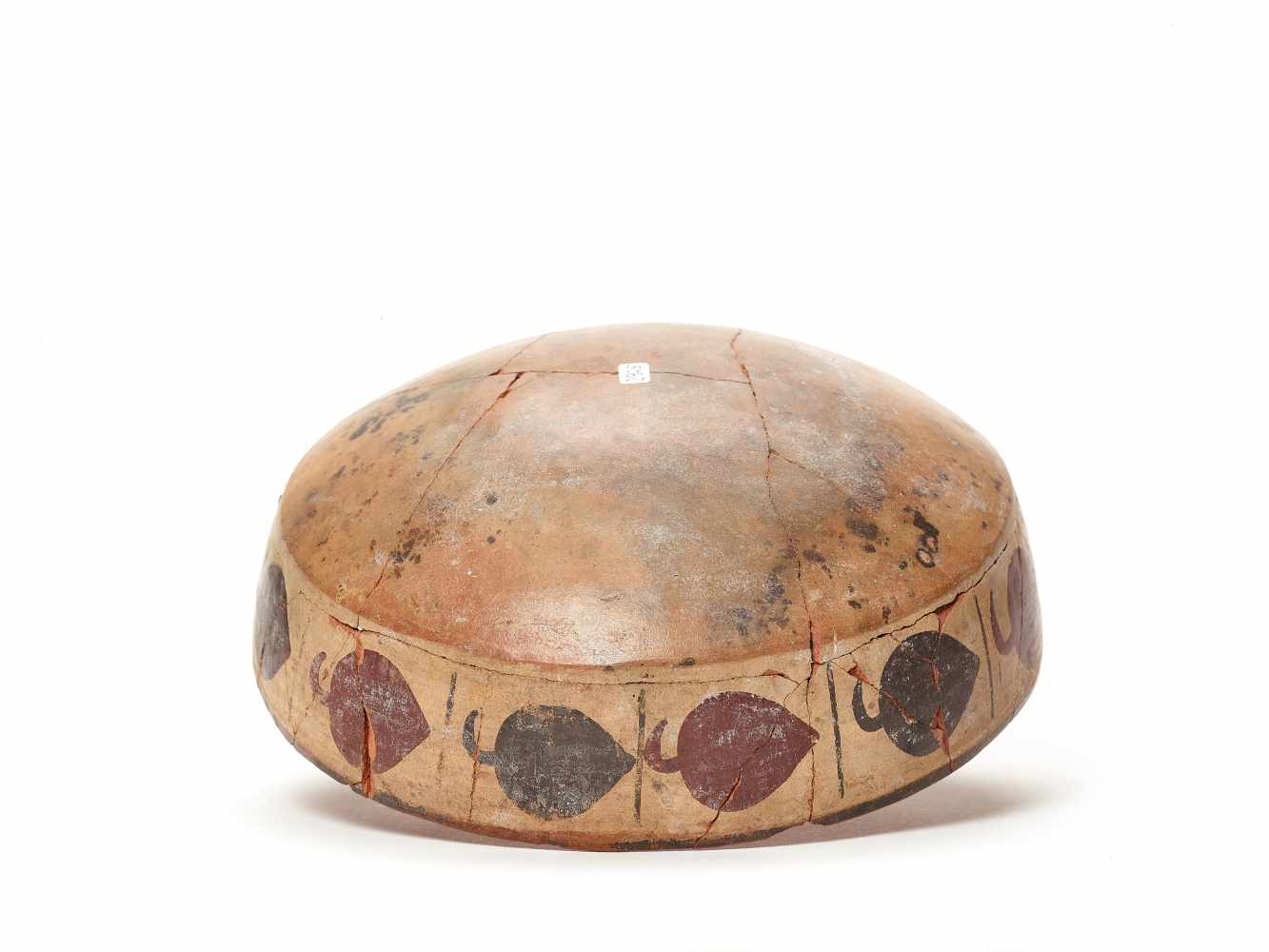 BOWL WITH BAND DECORATION - NAZCA, PERU, C. 300-600 ADPainted clayNazca, Peru, c. 300-600 ADArched - Image 5 of 5