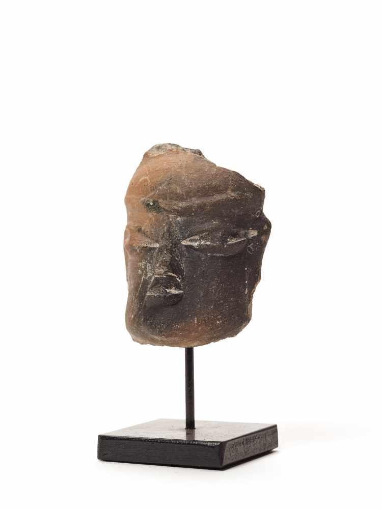 TL-TESTED HEAD - OLMEC CIVILIZATION, MEXICO, C. 7TH CENTURY BCFired clayOlmec civilization, - Image 2 of 4