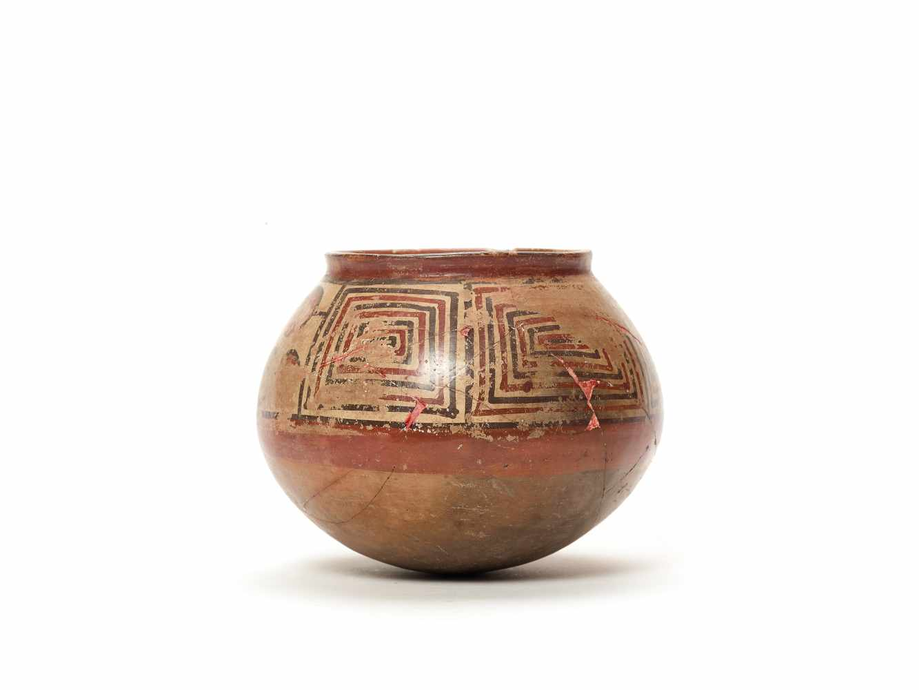 PAINTED CLAY POT - NAZCA, PERU, C. 300-600 ADPainted clayNazca, Peru, c. 300-600 ADSpherical form - Image 2 of 3