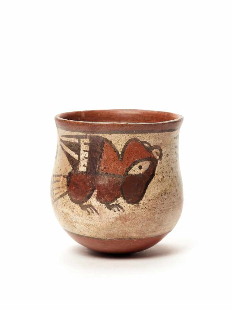 BOWL WITH BIRDS – NAZCA CULTURE, PERU, C. 200-800 ADPainted clayNazca culture, Peru, c. 200-800 - Image 2 of 3
