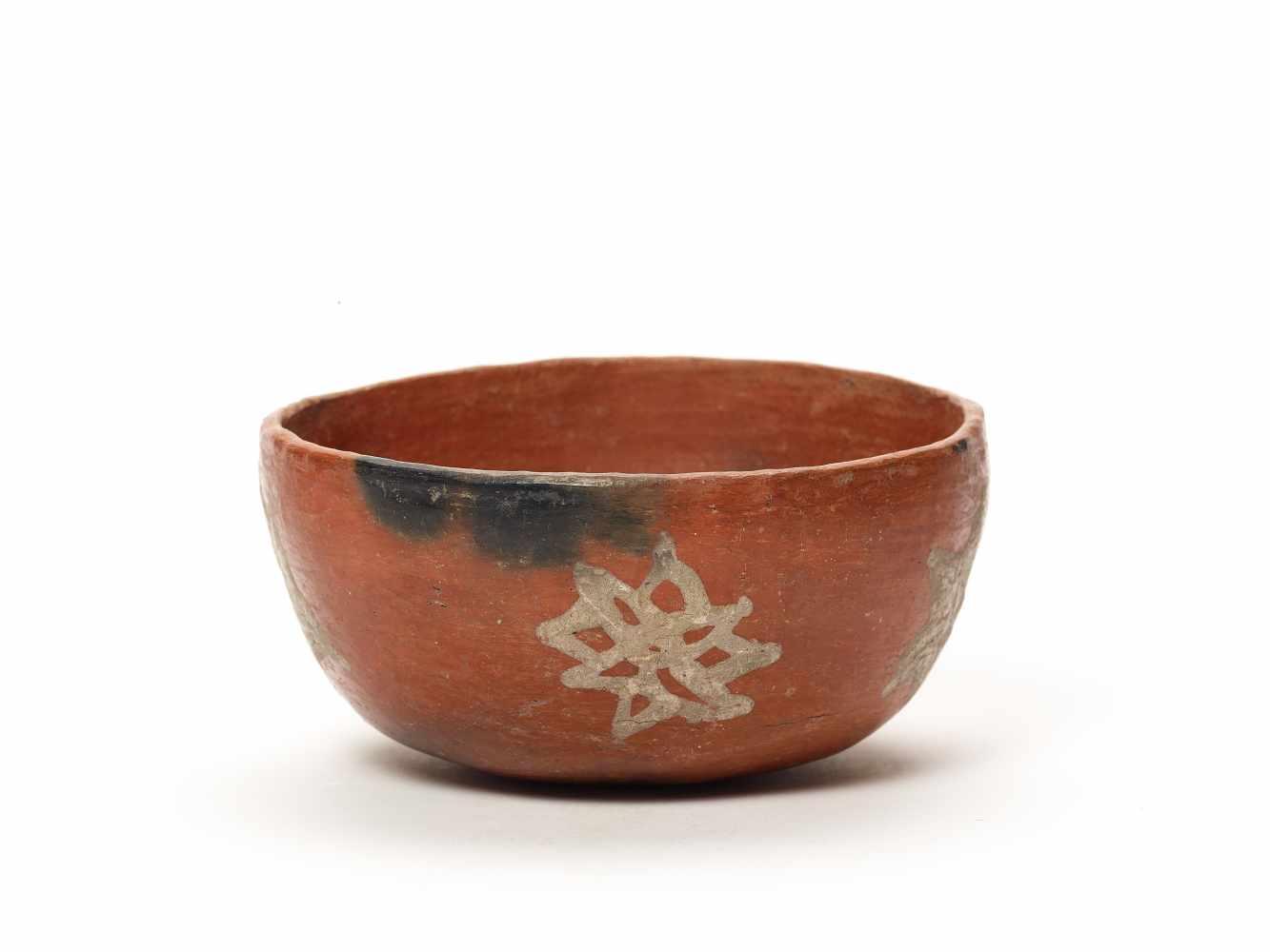THREE BOWLS – PROBABLY CHARCHI CULTURE, ECUADOR, C. 850 – 1500 ADFired clayProbably Charchi culture, - Image 8 of 10