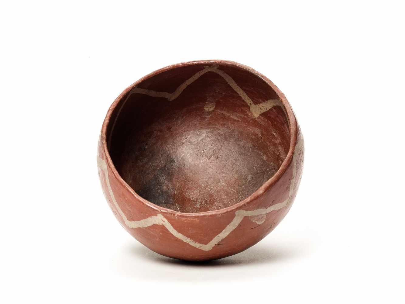 THREE BOWLS – PROBABLY CHARCHI CULTURE, ECUADOR, C. 850 – 1500 ADFired clayProbably Charchi culture, - Image 7 of 10