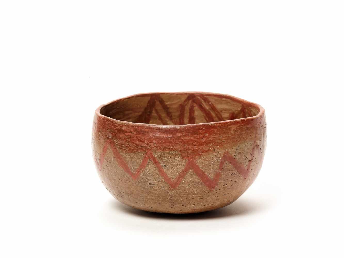 TWO BOWLS – PROBABLY CHARCHI CULTURE, ECUADOR, C. 850 – 1500 ADFired clayProbably Charchi culture, - Image 5 of 7