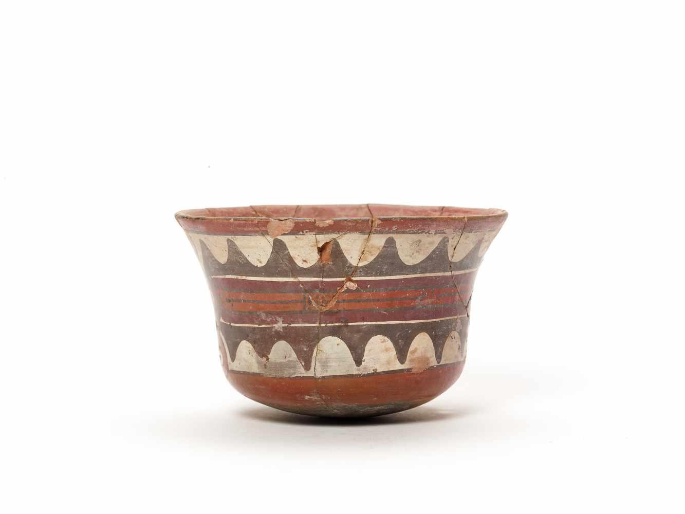 BOWL WITH GOD REPRESENTATION - NAZCA, PERU, C. 300-600 ADPainted clayNazca, Peru, c. 300-600 - Image 2 of 3