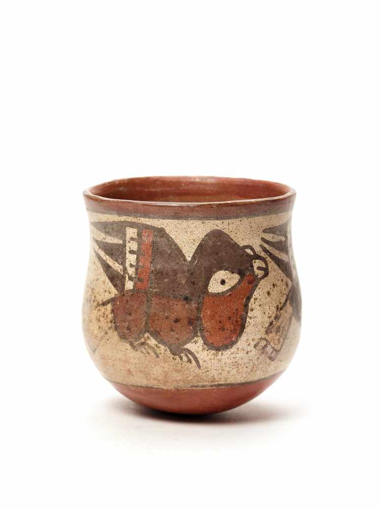 BOWL WITH BIRDS – NAZCA CULTURE, PERU, C. 200-800 ADPainted clayNazca culture, Peru, c. 200-800 - Image 3 of 3