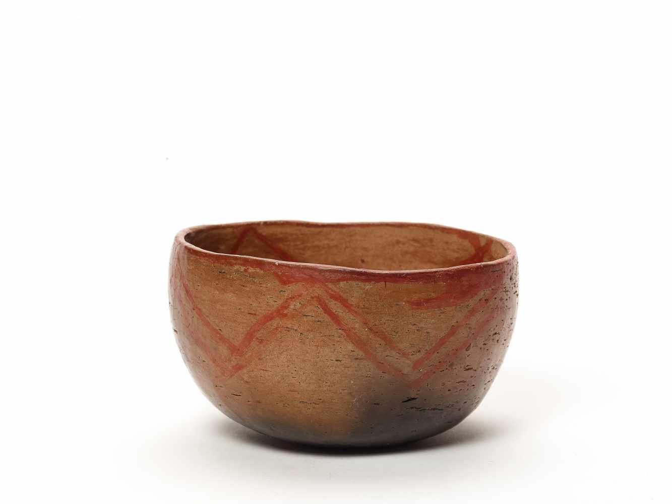 THREE BOWLS – PROBABLY CHARCHI CULTURE, ECUADOR, C. 850 – 1500 ADFired clayProbably Charchi culture, - Image 3 of 10