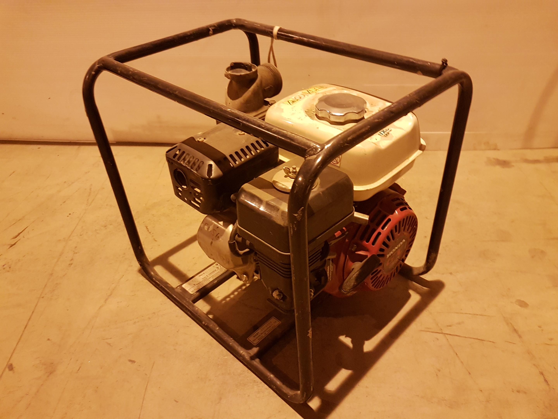 Lot 53 - Honda WB20XT petrol Centrifugal Water pump 54567, working