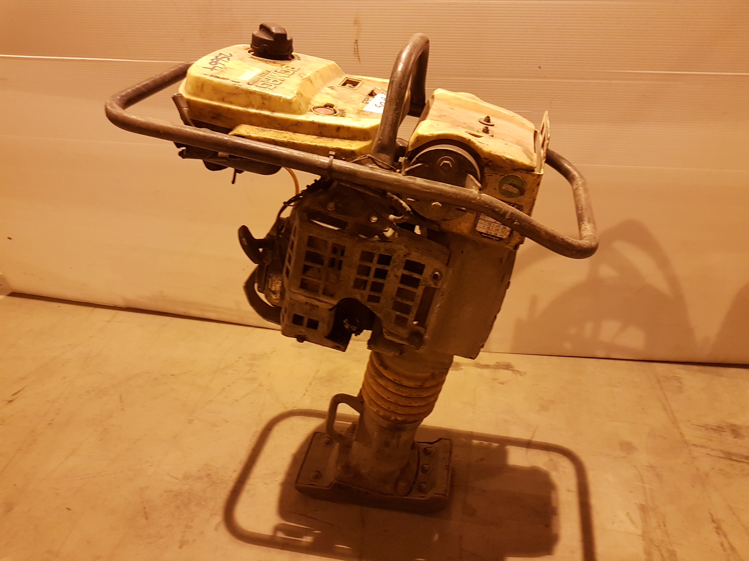 Lot 52 - Bomag BT 60/4 petrol Trench Rammer Honda Engined 25664, working
