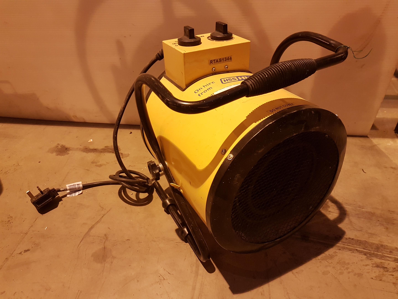 Lot 40 - 240v retail Heater RTAS1344, working
