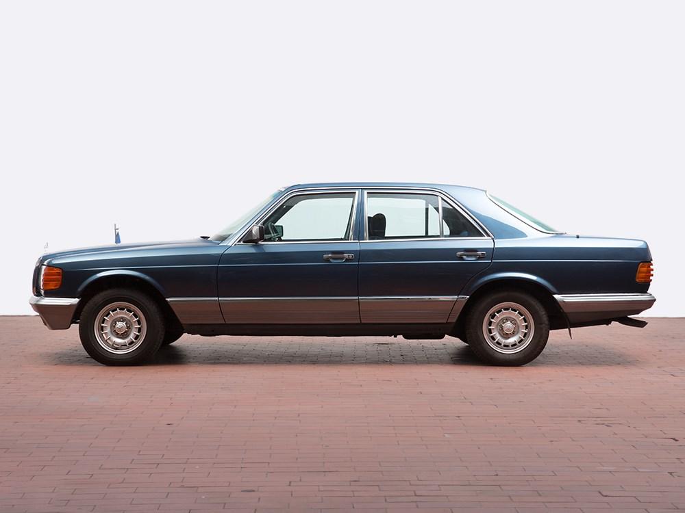 Mercedes benz 280 se model 1984 former state coach for Best mercedes benz model
