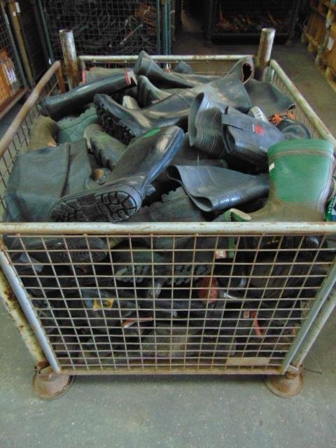 Lot 59 - Stillage of Mixed Boots