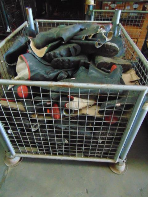 Lot 60 - Stillage of Mixed Boots