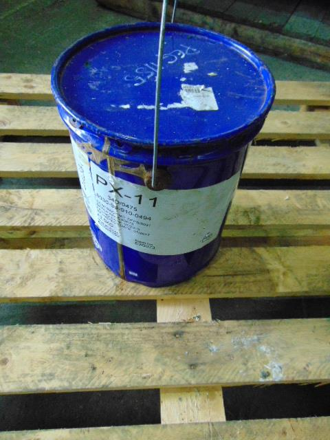 Lot 86 - Qty 1 x 12.5Kg PX-11 Corrosion preventative direct from reserve stores