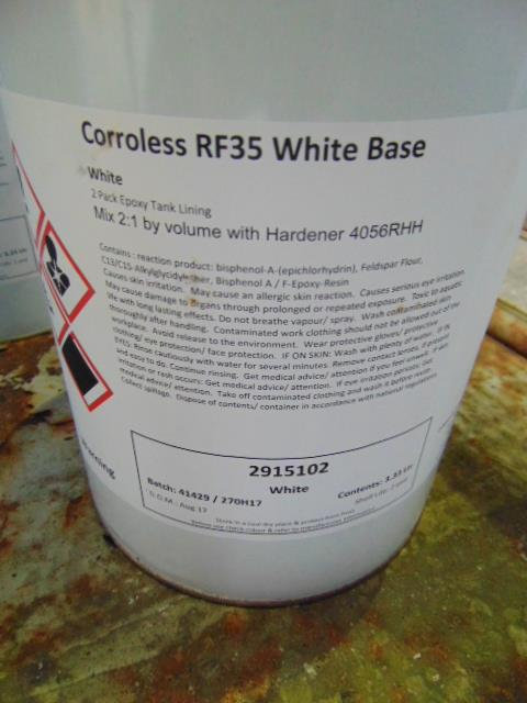 Lot 68 - Qty 11 x Corroless RF35 White Base 2 Pack direct from reserve stores