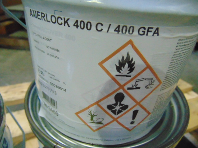 Lot 90 - Qty 2 x 2-Part Amerlock 2C/400C Epoxy Coating direct from reserve stores