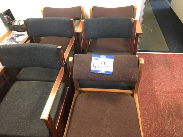 Lot 4694 - ASSORTED OFFICE CHAIRS