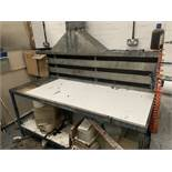 WORKBENCH with extraction canopy over 2m x 1.2m