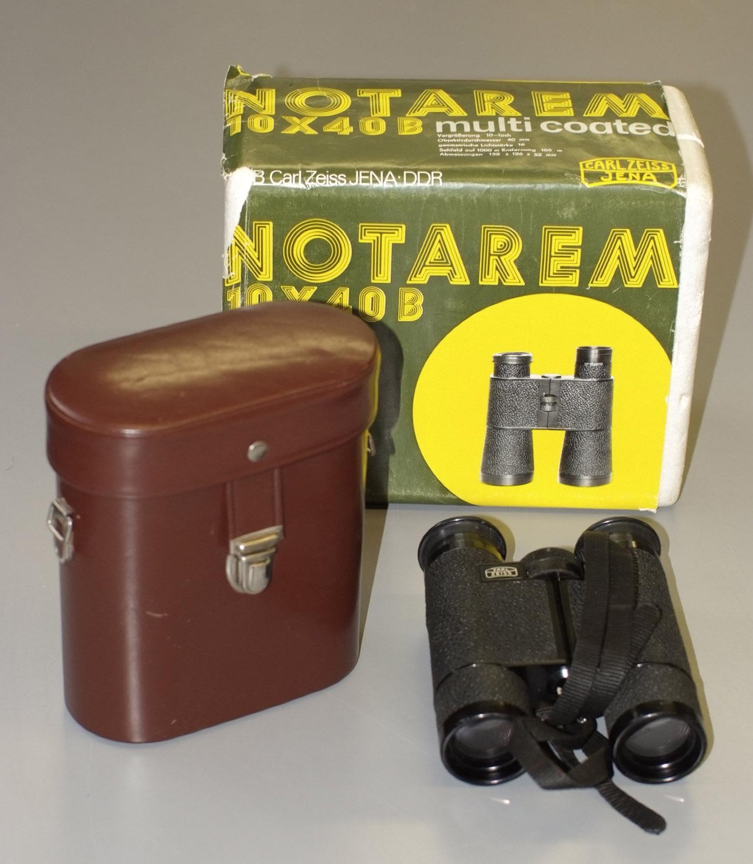 Lot 45 - Two Pairs of Carl Zeiss Binoculars.