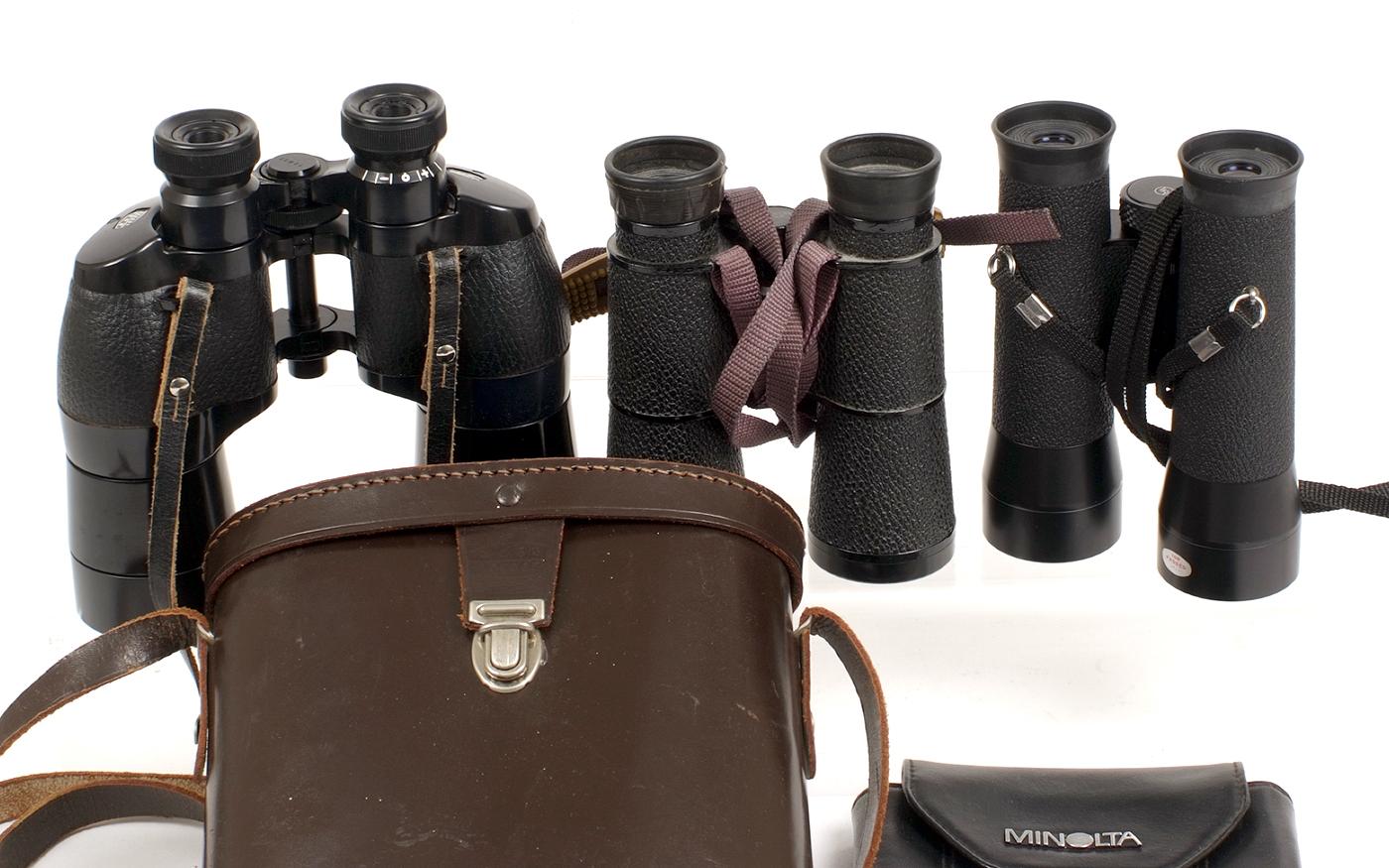 Lot 44A - Three Good Pairs of Binoculars.