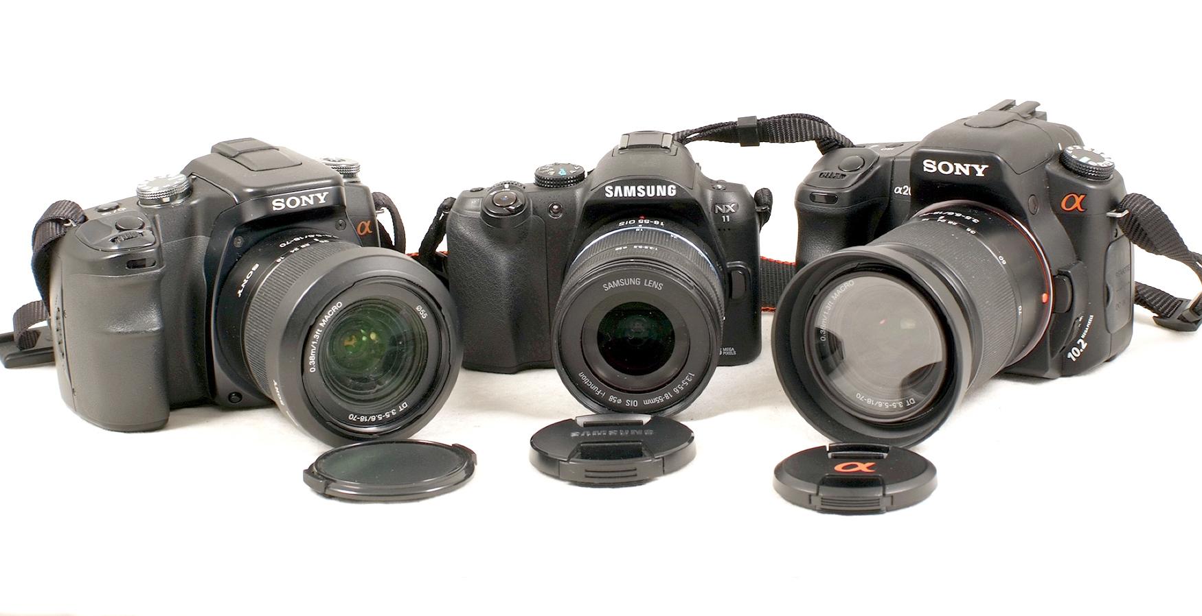 Lot 1 - Digital Camera Collection.