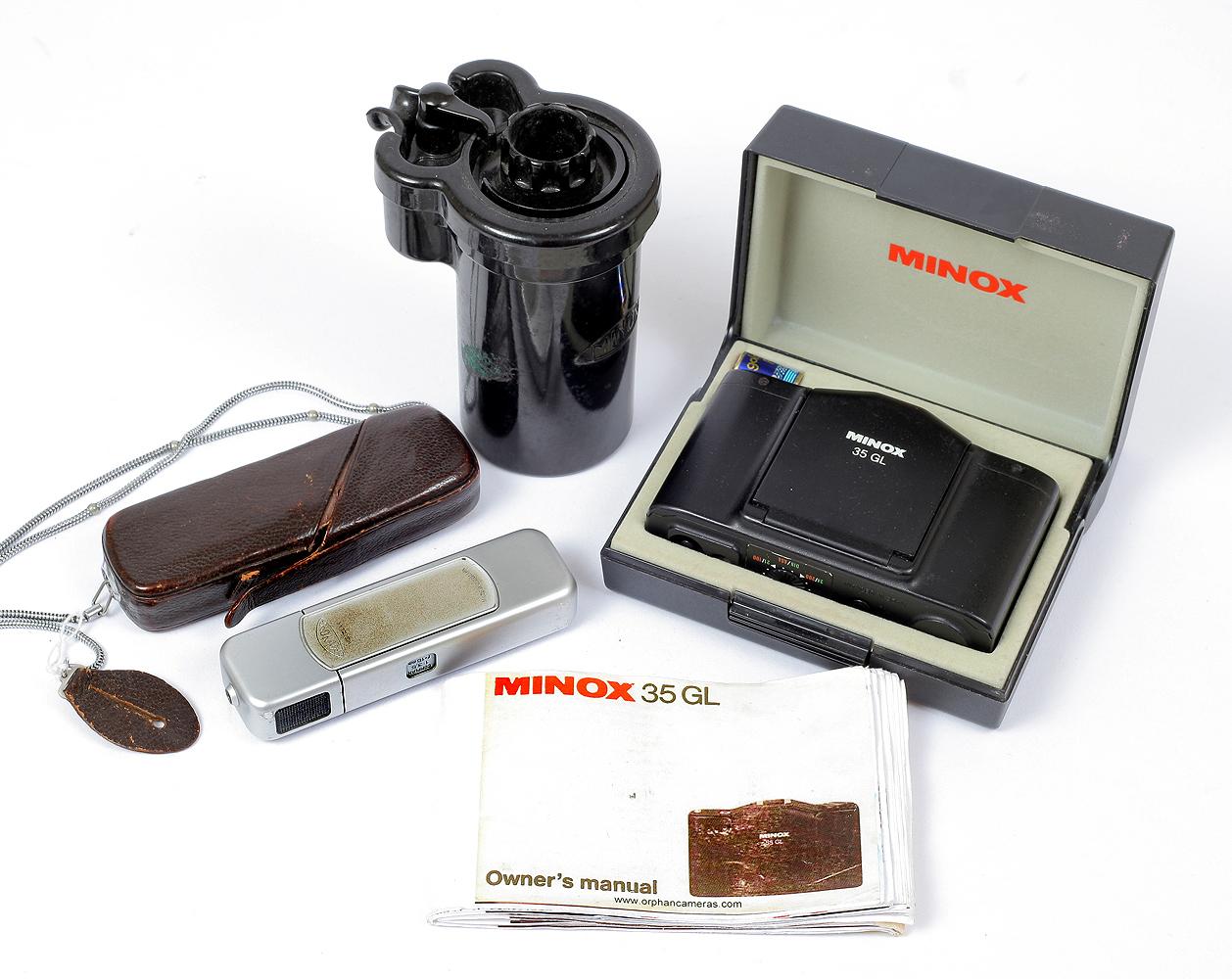 Lot 53 - Minox 35mm & Subminiature Cameras.