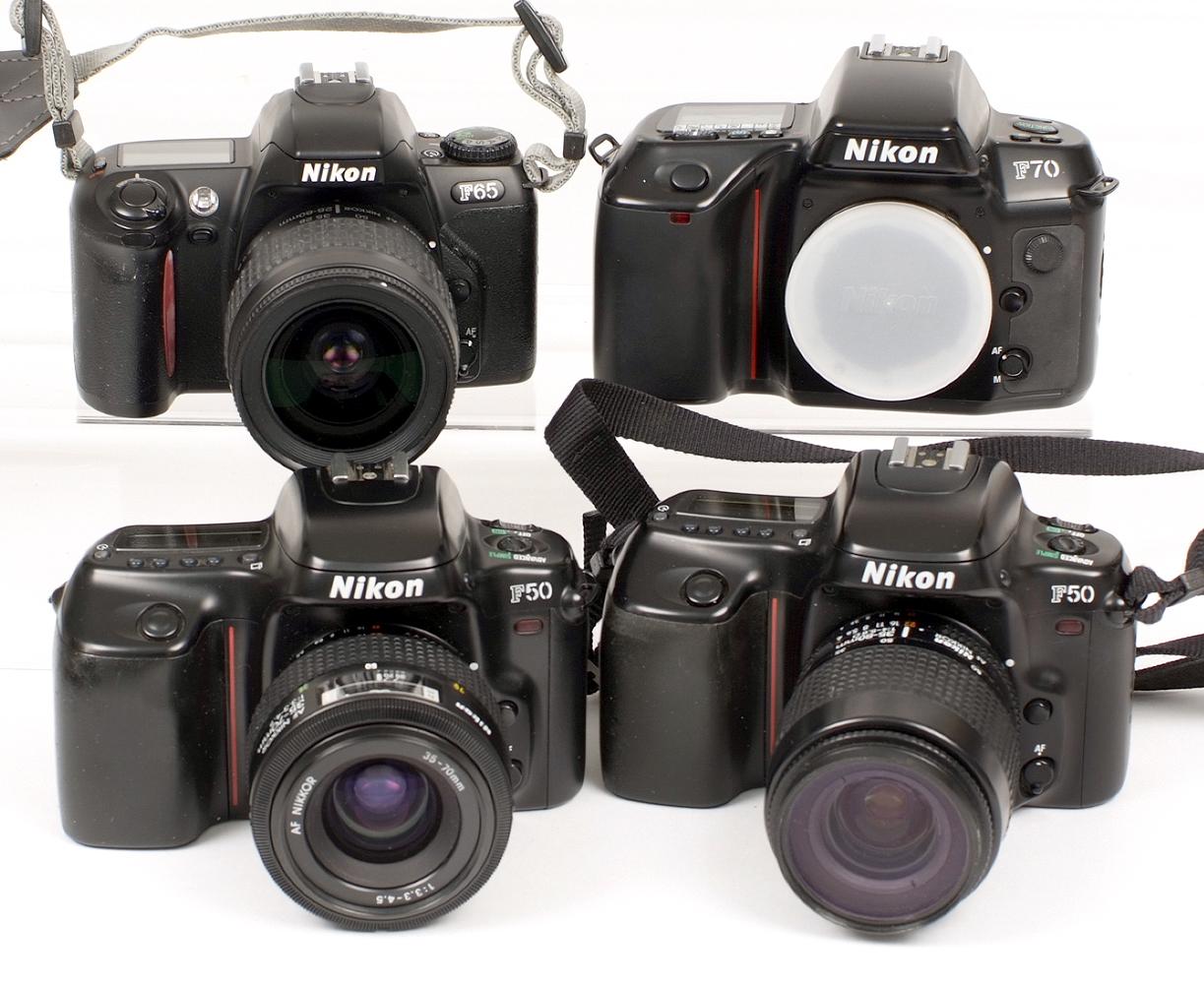 Lot 7 - Nikon Autofocus Collection.