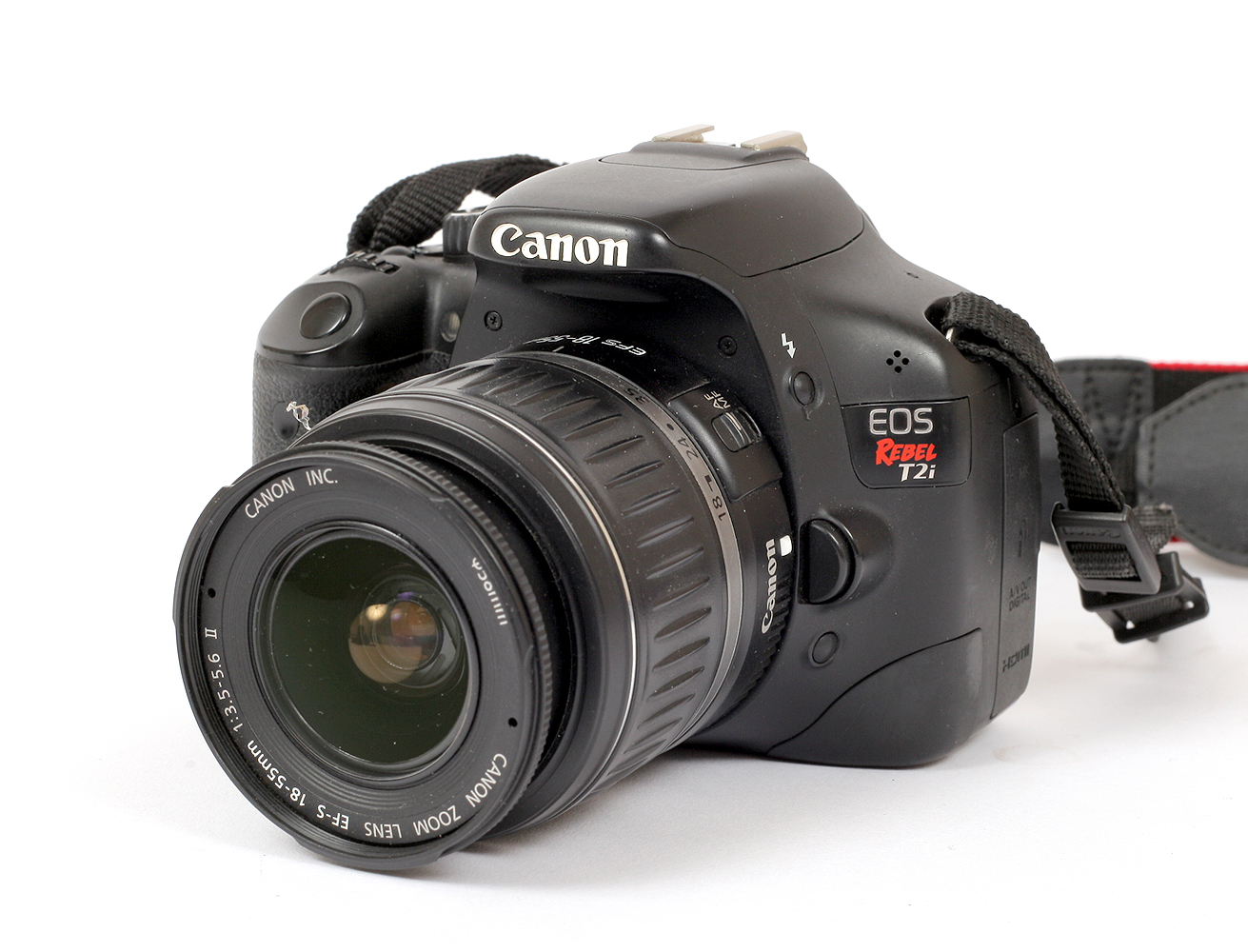 Lot 9 - Canon EOS Rebel T2i DIGITAL Camera, with Sigma 30mm 1.4 lens. (condition 5E).