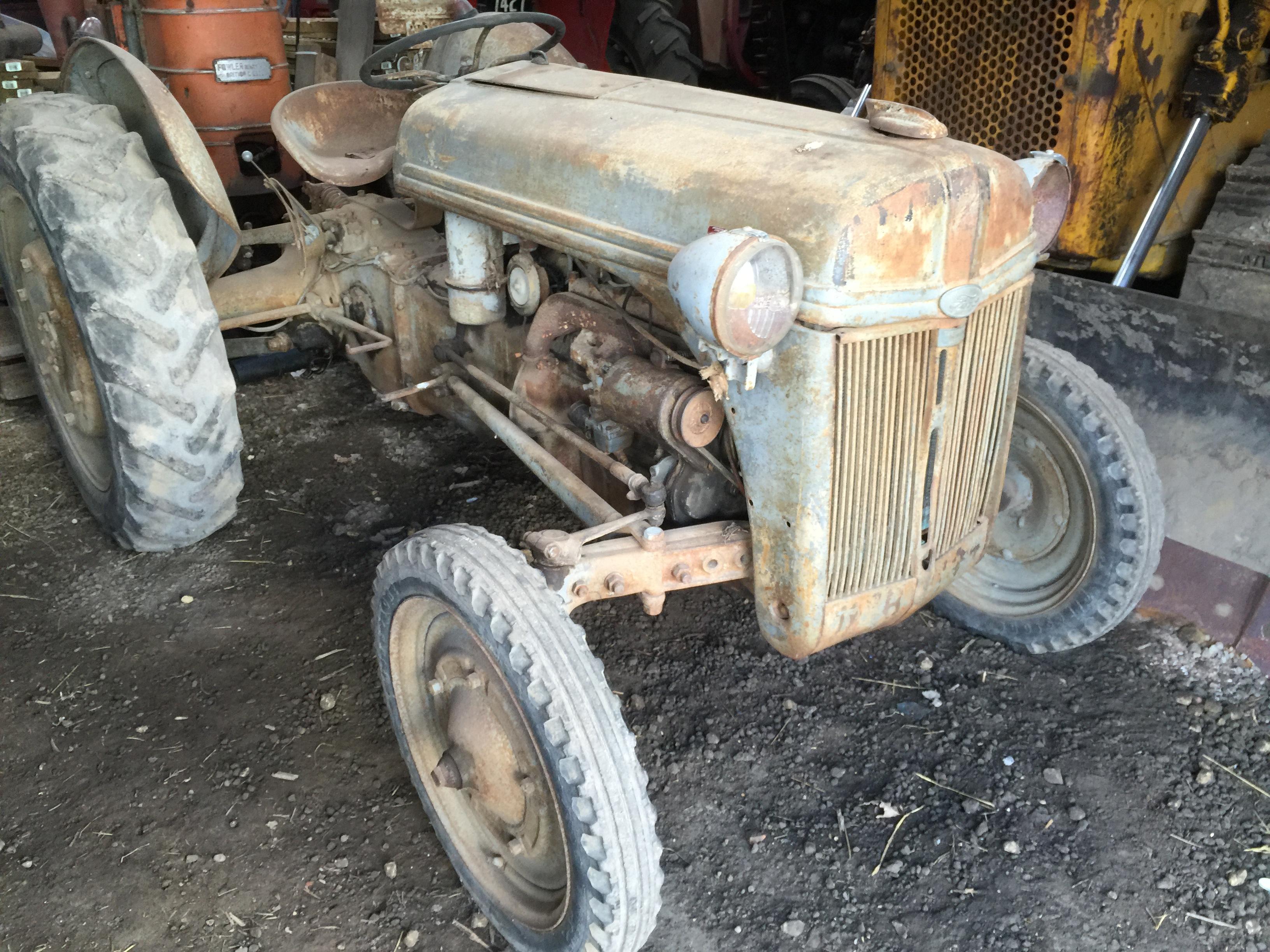 Ferguson Rear Tractor Rims Used : C ford ferguson n cylinder petrol tractor fitted