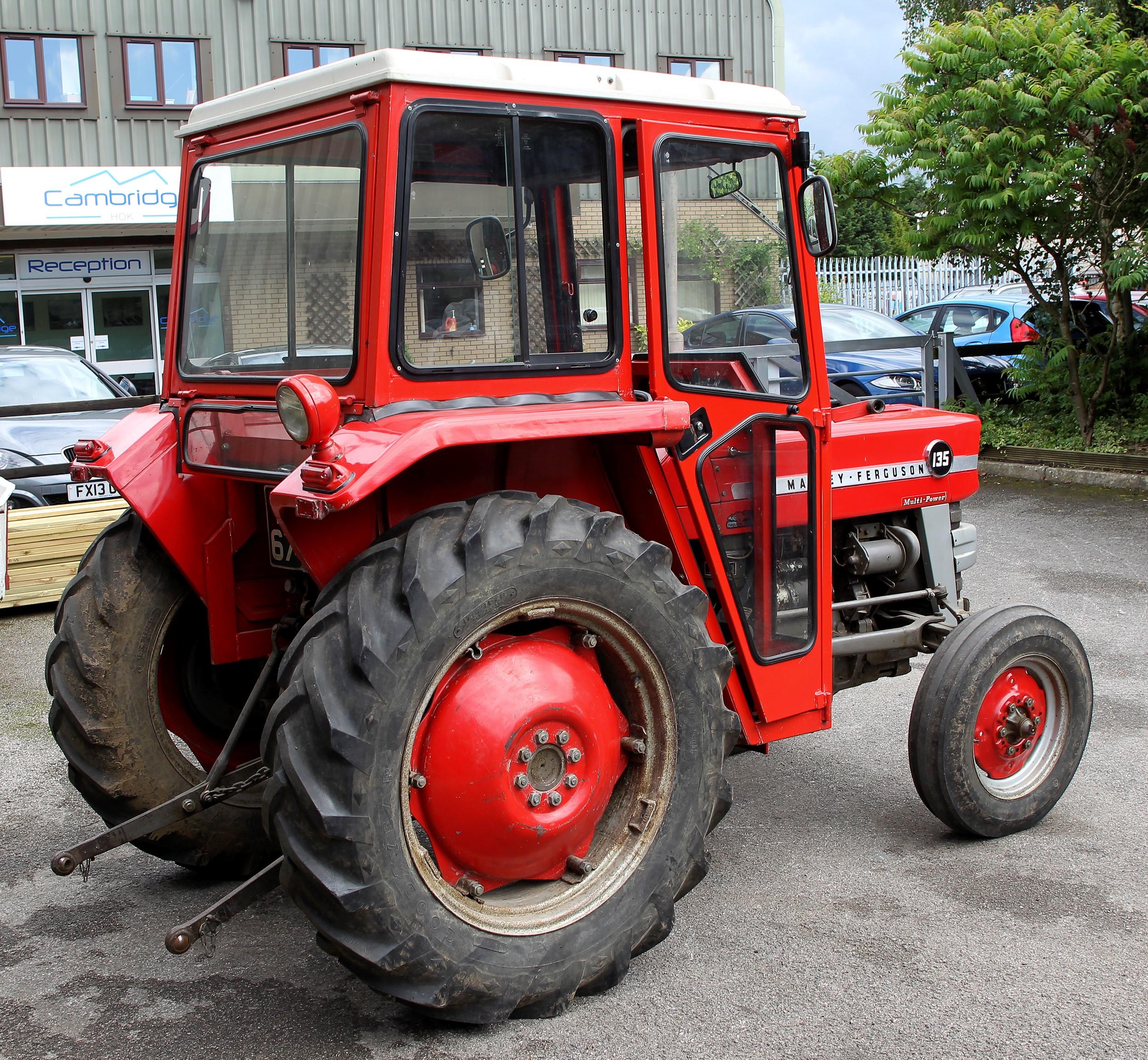 1966 Massey Ferguson Tractor : Massey ferguson multi power cylinder diesel