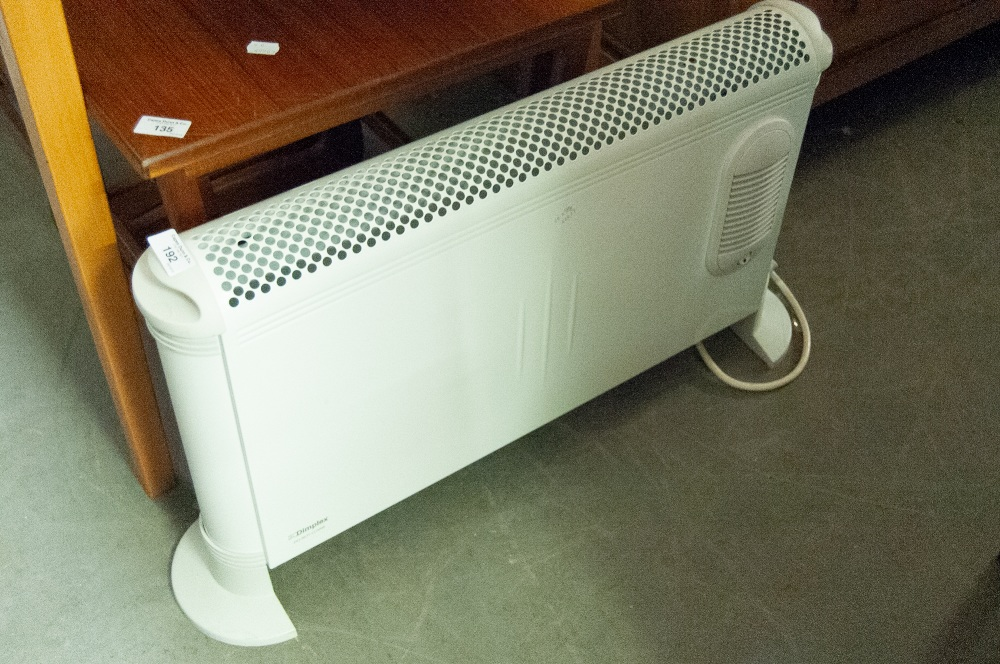 Lot 192 - DIMPLEX ELECTRIC CONVECTOR HEATER