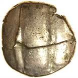 Dubnovellaunos Serpent. Sills class 3, dies 1?/4. c.25BC-AD5. Celtic gold stater. 16-18mm. 5.42g.