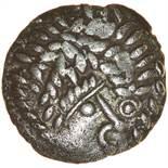 Worthing Wonder. c.55-45 BC. Celtic silver unit. 15mm. 1.23g.
