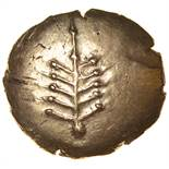 Catti Tree. c.AD 1-20? Celtic gold stater. 18mm. 5.36g.