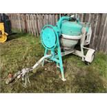 2011 Imer Workman 9 Towable Cement Mixer