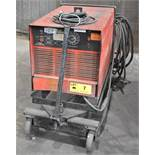 CANOX C-400SS DC ARC WELDER WITH CABLES & GUN, S/N: JJ343125