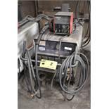 HOBART CYBERWELD 652 DIGITAL MIG WELDER WITH CANOX C-S60 24V WIRE FEEDER, CABLES & GUN, S/N: