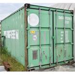 EVERGREEN (2000) P2111 20' STORAGE CONTAINER (CI) (DELAYED DELIVERY)