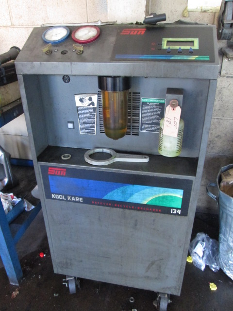 sun kool kare 134 recover recycle recharge air con unit with rh bidspotter co uk snap on koolkare plus manual