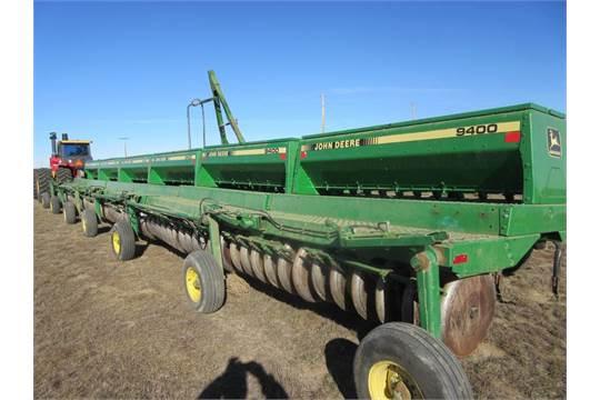 60 Ft Of John Deere 9400 Grain Drills 10 Inch Spacing