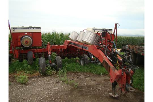 Case Ih 955 Split Row Planter 8 15 W Case Ih 6100 Caddy W Monitors