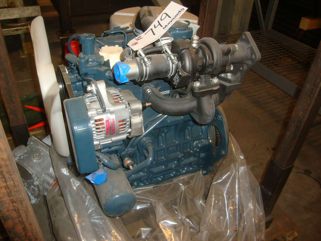Kubota D1105-T 24 5kW Diesel engine (new)