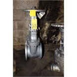 "8"", 125 LB. 3% NICKEL STAINLESS STEEL TRIM F/E GATE VALVE, WALWORTH"