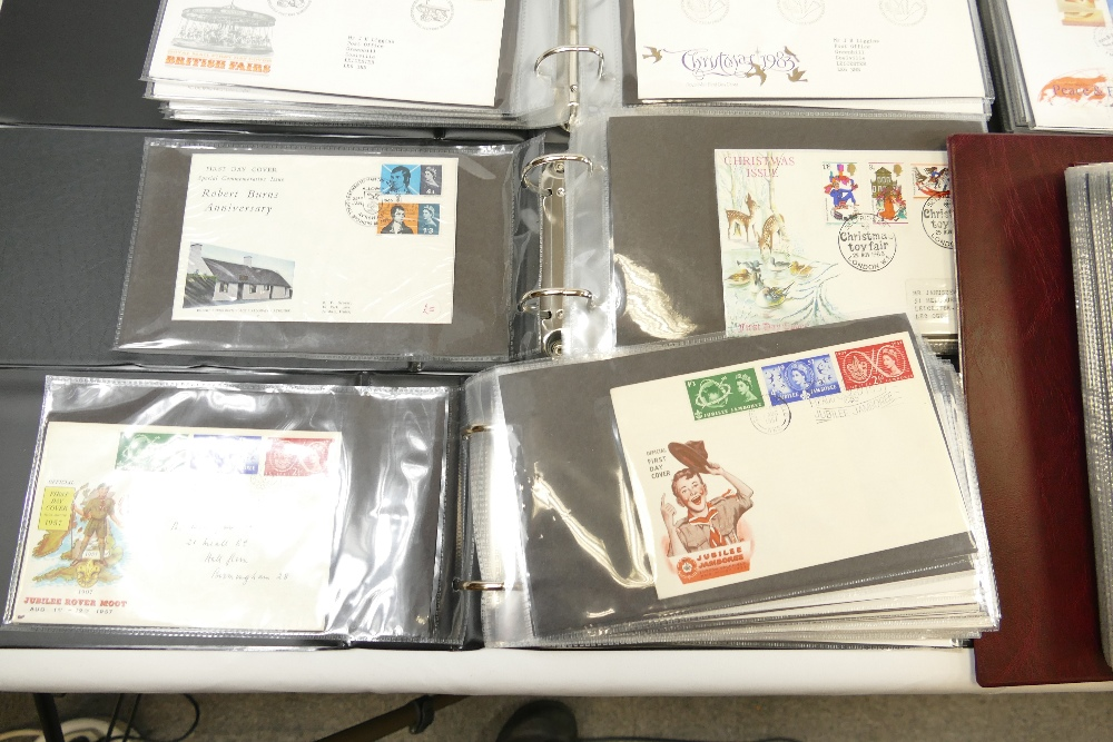 Lot 53 - FIRST DAY COVERS (366) all on Official envelopes, and PRESENTATION PACKS 1980's (27).